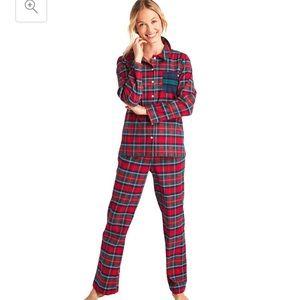 Vineyard Vines women's flannel plaid pajamas